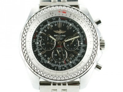 BREITLING BENTLEY LE MANS CHRONO STEEL / NEGRU