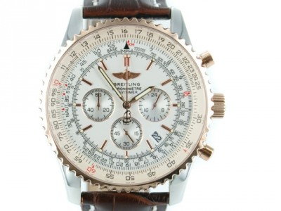 Breitling Navitimer leather rosegold  - ceas replica 1:1