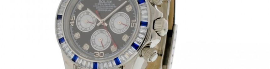 Nou! Ceas nou in stock Rolex Daytona cu diamante