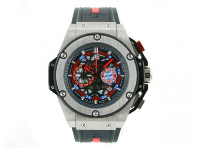 Hublot Big Bang 48mm King Power FC Bayern Munic - Ceas replica 1:1