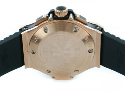Hublot Big Bang Gold 44mm with black Dail - Ceas replica 1:1