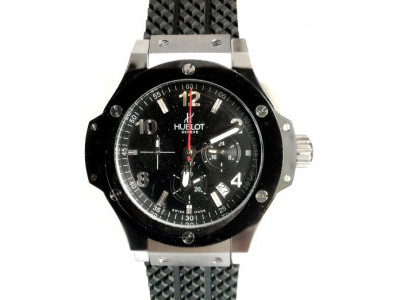 HUBLOT BIG BANG STEEL 44MM WITH BLACK DAIL - CEAS REPLICA 1:1