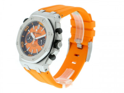 "AUDEMARS PIGUET ROYAL OAK OFFSHORE DIVER CHRONO ORANGE - REPLIKA, COPIE 1""1"
