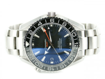 OMEGA SEAMASTER PLANET OCEAN 600 M CO-AXIAL GMT 43.5MM BLK - Ceas replica 1:1