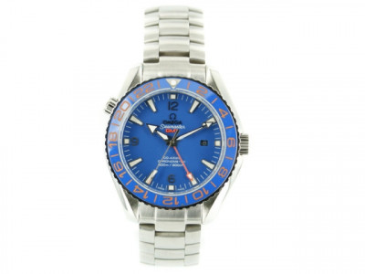 OMEGA SEAMASTER PLANET OCEAN 600 M CO-AXIAL GMT 43.5MM GOODPLANE - Ceas replica 1:1