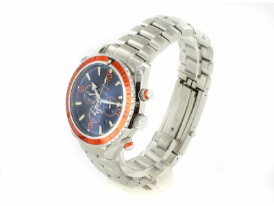 Omega Seamaster Planet Ocean Chrono Orange - Ceas replica 1:1