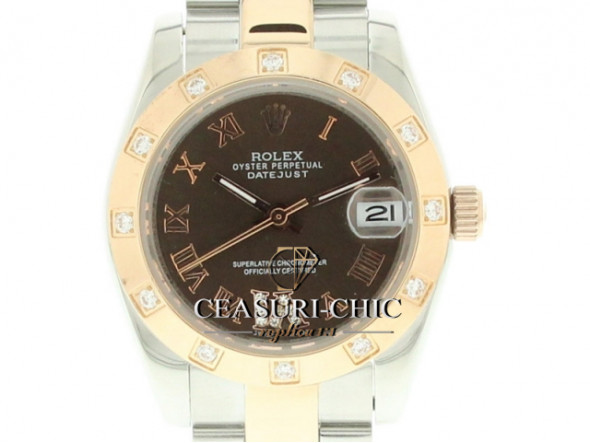 ROLEX Datejust Dama EVEROSE 31mm