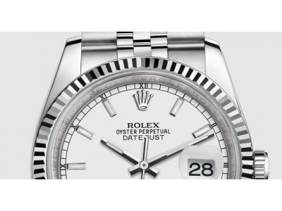 ROLEX DATEJUST 36MM JUBILEE Silver
