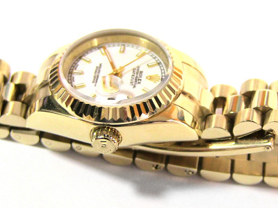 Rolex Date Just Lady Gold Automatic