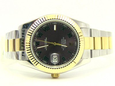 Rolex Datejust II twotone 41mm - gold  steel wristlet - Ceas replica 1:1