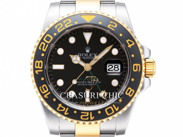ROLEX GMT MASTER II BICOLOR STEEL / GOLD