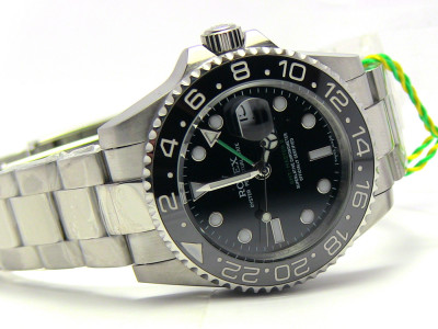 Rolex GMT Master 2012 ceramic - black Dial - Ceas replica 1:1