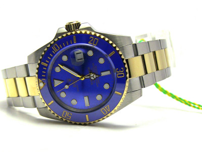 Rolex Submariner bicolor - blue Dial - ceas replica 1:1
