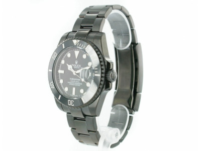 Rolex Submariner PVD black steel - black Dial - ceas replica 1:1