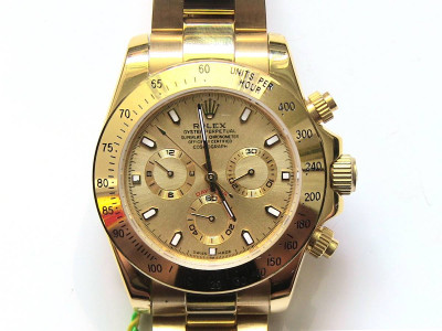 Rolex Daytona Oyster Perpetual Superlative Gold - Ceas replica 1:1