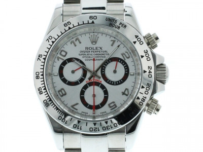 ROLEX DAYTONA WHITE GOLD EDITION SILVER