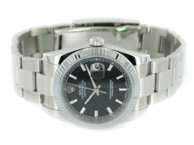 Rolex Datejust black Dial - Ceas replica 1:1