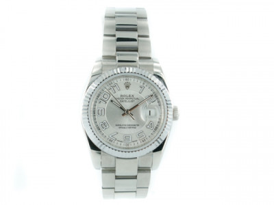 Rolex Datejust silver pearl Dial for women - ceas replica 1:1