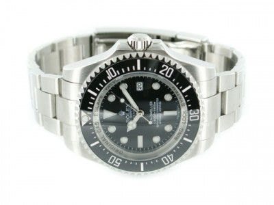 Rolex SeaDweller DeepSea steel with black Dial - ceas replica 1:1