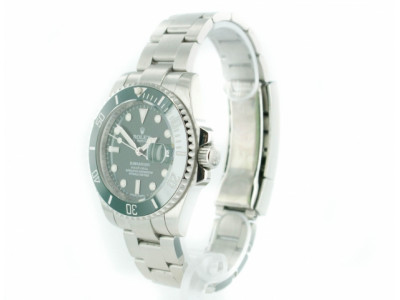 Rolex Submariner steel 2012 ceramic - green Dial - ceas replica 1:1