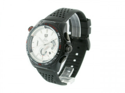 Tag Heuer Grand Carrera RS white dial - ceas replica 1:1